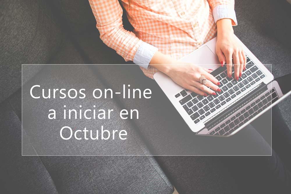 Cursos on-line por iniciar en Octubre